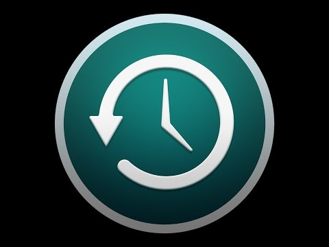 Setting Up Time Machine in Mac OS X Sierra and Earlier
