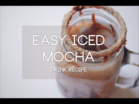 Easy Iced Mocha (Dairy Free) | Drink Recipe