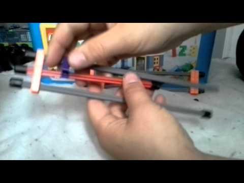 How to make a k'nex hidden blade