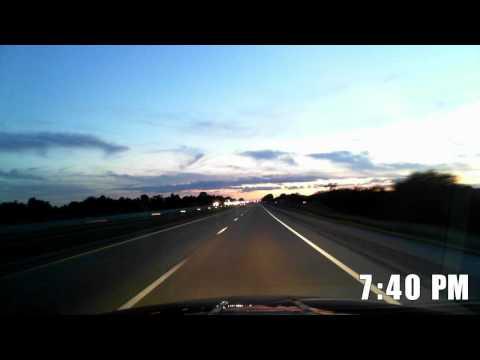 Driving Across America - Ohio to Utah - HD 50 fps Time Lapse
