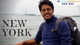 My First day in New York | Metro/Subway Train | China Town bus