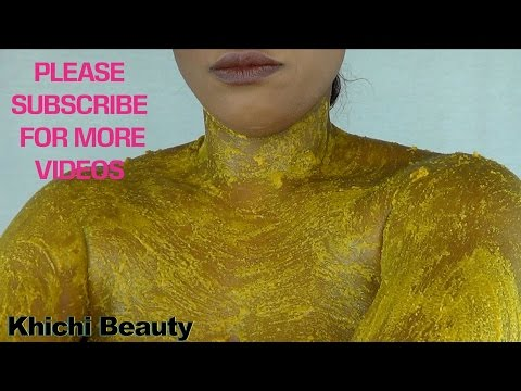 HAVE YOUR SKIN BRIGHT SMOOTH AND GLOWING | SKIN LIGHTENING BEAUTY MASK | Khichi Beauty