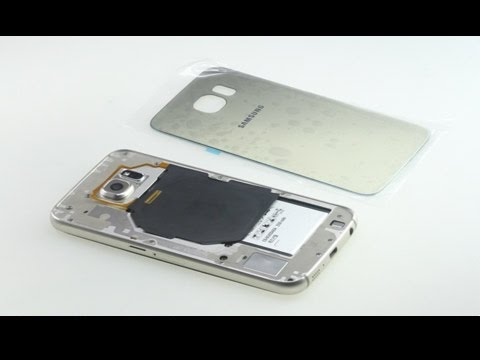 How to replace cracked Galaxy S6 back cover?
