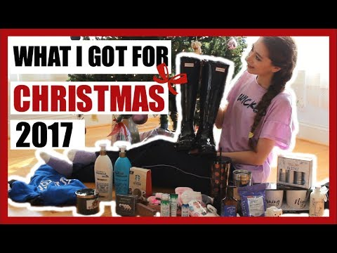 What I Got For Christmas 2017 (HAUL) + Life Update!