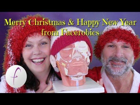 Merry Christmas & Happy New Year from Peta & John | FACEROBICS® Face Exercise Program
