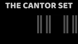 What happens at infinity? - The Cantor set