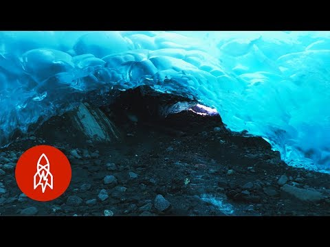 Explore the Melting Ice Caves of Alaska's Mendenhall Glacier