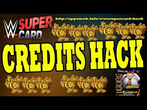 Wwe SuperCard Hack - Wwe SuperCard Cheats - How to get Unlimited Credits (Live Proof)