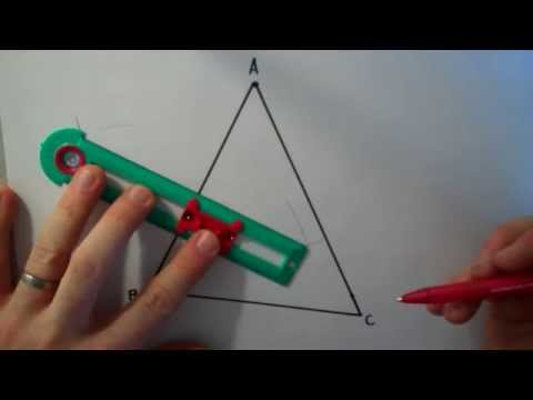 Constructing the Midsegment of a Triangle