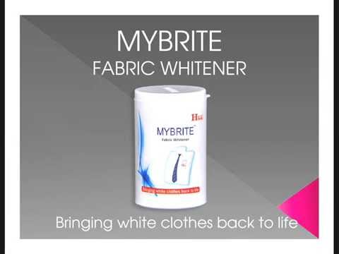 MYBRITE colour safe chlorine free Fabric Whitener And Brightener in INDIA