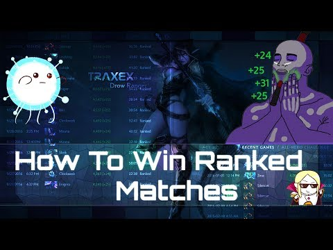 Dota 2 - How to Win Ranked Matches and Gain MMR [ On Any Server]