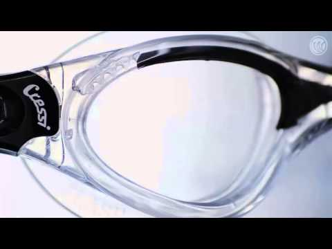 Cressi Flash Swimming Goggles | www.watersportswarehouse.co.uk