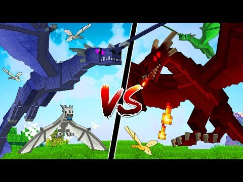 THE MOST EPIC MINECRAFT DRAGON BATTLE EVER!