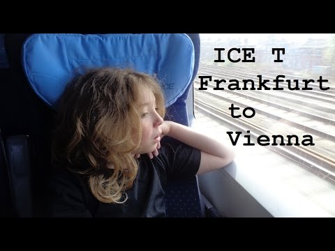 ICE T from Frankfurt to Vienna (Great Train Trip Pt3) - CAMT037