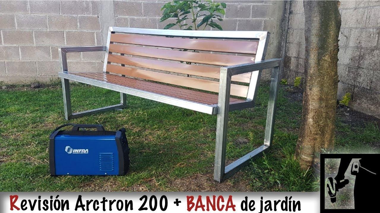 Infra Arctron 200 (Review) + Banca de Jardín (Proyecto)