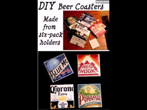 DIY Beer Coasters