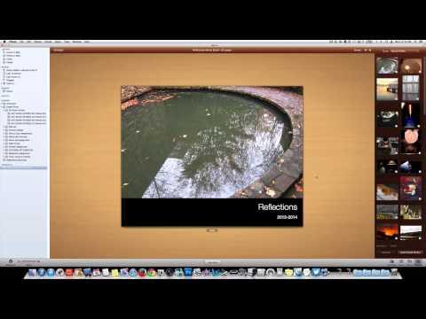 iPhoto- Making a Digital Book