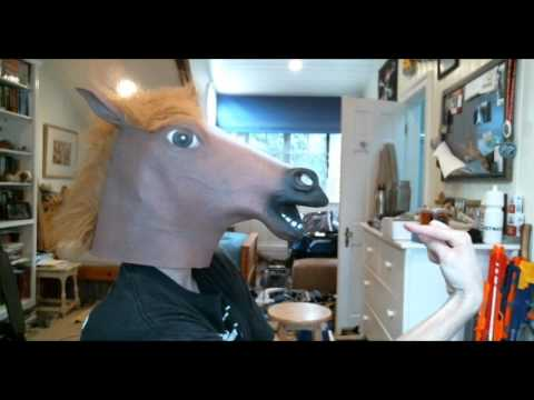 How a horse mask made the city stop