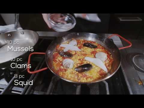 Spanish Seafood & Chorizo Paella