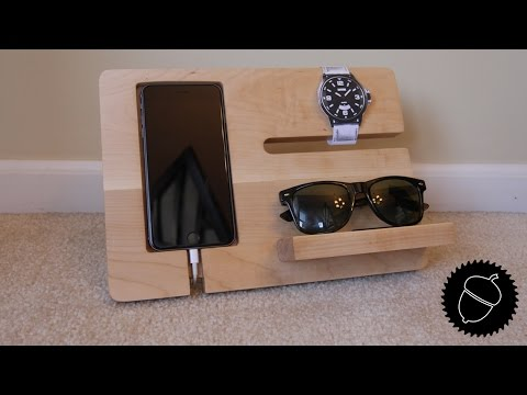 How to Make a Night Stand Charging Station!