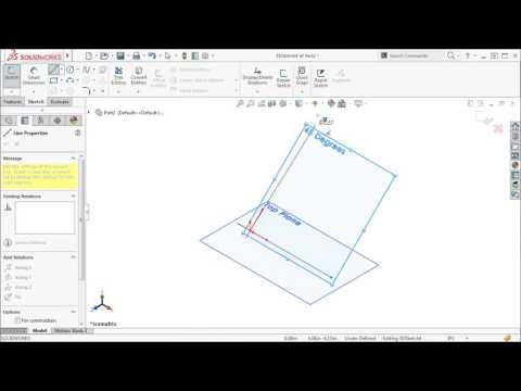 3D Sketching with Planes in SOLIDWORKS 2016