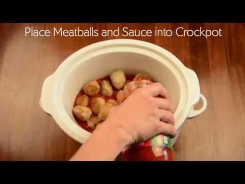 Slow Cooker Stuffed Meatballs