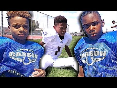 🔥🔥 10U   Carson Colts (Bad Boyz) v LA Rams   Snoop Youth Football League - Highlight Mix 2017