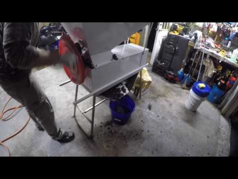 Grape Crusher Destemmer  press