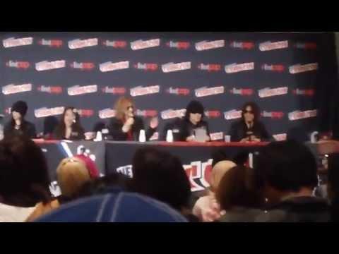 New York Comic Con 2014 Yoshiki, X Japan Panel (1 of 2)