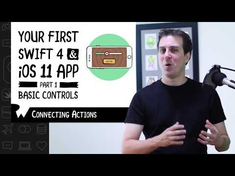 Challenge: Connecting Actions - Beginning Programming with iOS 11, Swift 4, and Xcode 9