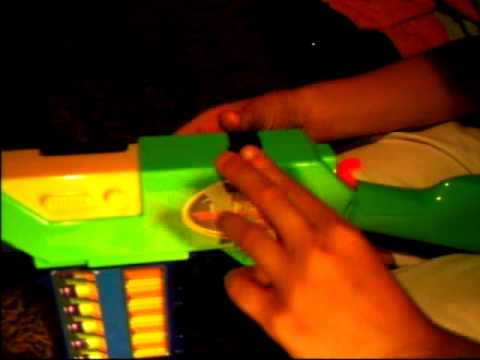 How to make a Nerf dart Holder