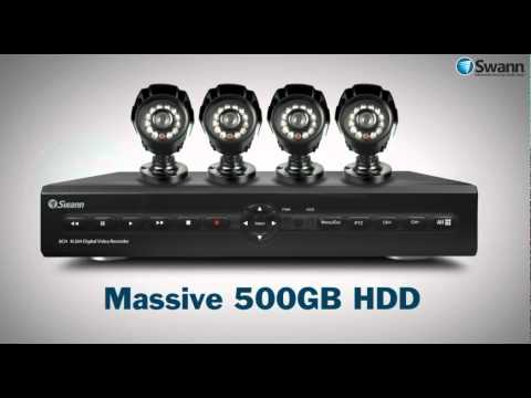 Swann DVR8-2550 Chapter Video for Costco UK