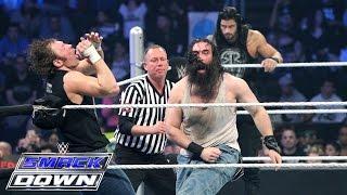 Roman Reigns & Dean Ambrose vs. Luke Harper & Seth Rollins: SmackDown, April 23, 2015