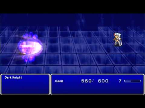 Final Fantasy 4 Complete Collection: Cecil becomes a Paladin