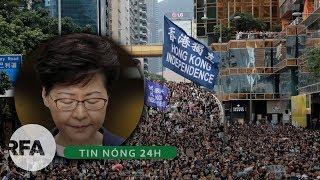 Tin nóng 24H   Trưởng đặc khu HongKong thừa nhận đã thất bại và chấp nhận hủy luật Dẫn Độ