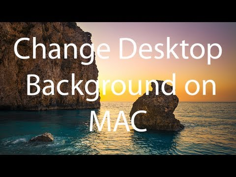How to Change Desktop Background On a MAC