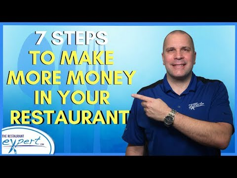 Restaurant Management Tip - 7 Steps to Make More Money in Restaurant Business #restaurantsystems