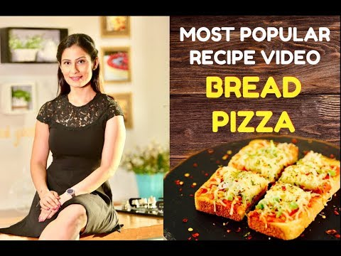 Bread Pizza Recipe | Pizza without Oven | Quick and Easy Pizza | Meghna's Food Magic