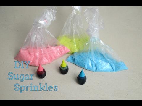 DIY Sugar Sprinkles