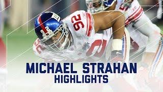 Michael Strahan Career Profile Nfl Legend Highlights