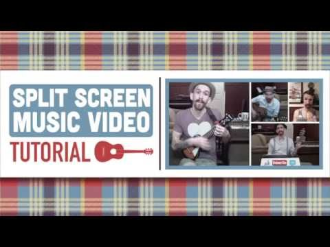 Tutorial - Split Screen Music Video in iMovie