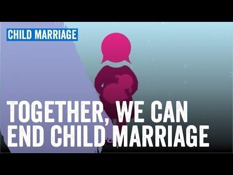 Together, we can end child marriage