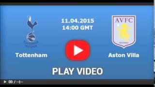 Tottenham vs Aston Villa [LIVE STREAM] [04.11.2015]
