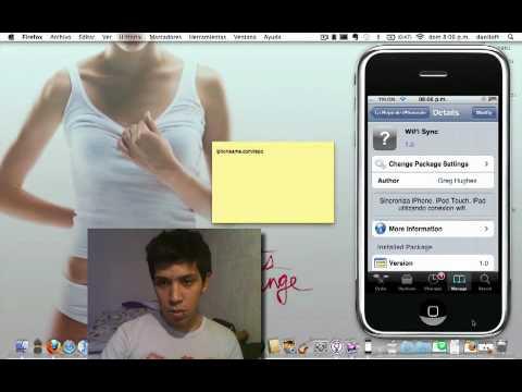 como sincronizar tu iPhone con iTunes via wifi