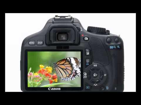 Canon T2i 550D - Camera DSLR Tutorials - buttons and exterior features