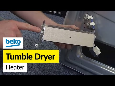 How to Replace the Heater on a Tumble Dryer (Beko)