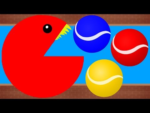 Pacman Colors | Kids Educational Video | Preschooler Learning