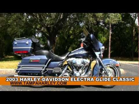 Used 2003 Harley-Davidson FLHTC Electra Glide Classic 100th Anniversary
