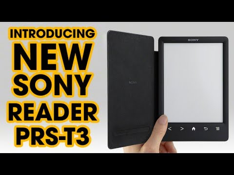 NEW Reader™ from Sony | PRS-T3