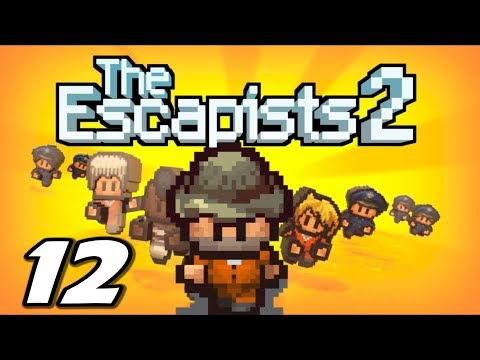 The Escapists 2 - GETTING WOOD JOB - Episode 12 (Escapists 2 Gameplay Playthrough)